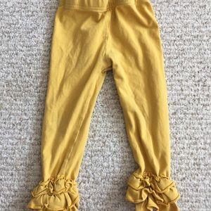 Other - Matilda Jane look alike yellow ruffle pant